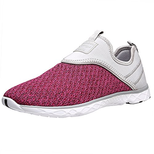 Gray Shoes On Womens ALEADER Womens Rose ALEADER Athletic Slip Water UpxFFwCgq