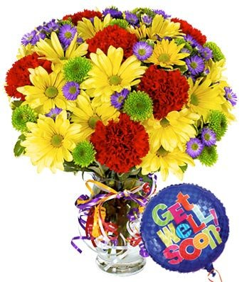 Lifetime Special Get Well Soon - Same Day Get Well Soon Flowers Delivery - Get Well Soon Flowers - Get Well Bouquet - Sympathy Flowers - Get Well Soon Presents
