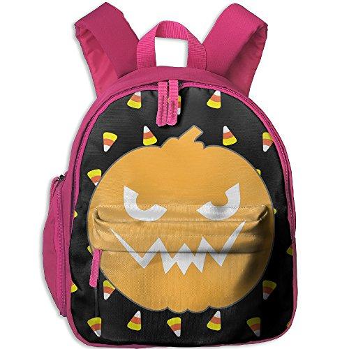 Kid's Unisex Halloween Pumpkin School Backpack Bag Book Bags (Taps Live Halloween 2017)