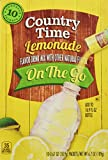 Country Time Lemonade On-the-Go Packets, 10-Count Boxes (Pack of 6)