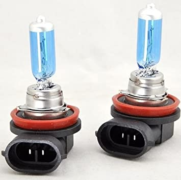Set 2x Stück H11 55w 12v Gas Xenon Optik Mit Echtem Xenon Gas Gefüllt Halogen Lampen Glühlampen Super White Birnen Autolampen Inion Long Life Zugelassen Im Bereich Der Stvzo Auto