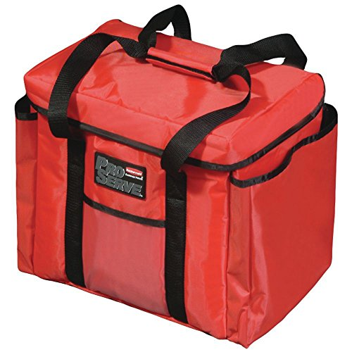 Rubbermaid ProServe Red Nylon Insulated Sandwich Delivery Bag - 15