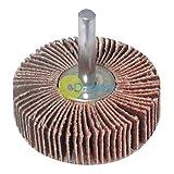 Daptez ® Flap Wheel Power Disc 40mm - Sanding Abrasive DIY - 40 Grit