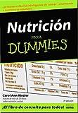 Nutricion para Dummies, Carol Ann Rinzler, 9580491526