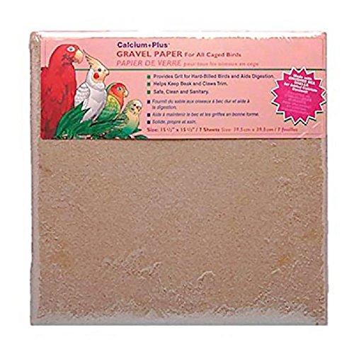 51alKugomrL - Penn Plax 15 1/2X15 1/2 IN Gravel paper BA633