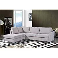 NHI Express Reversible Sectional Landon, Beige