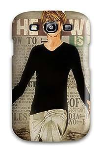 Janice K. Alvarado's Shop Hot Galaxy S3 Light From Death Note Print High Quality Tpu Gel Frame Case Cover