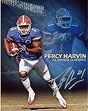 Percy Harvin Florida Gators Autographed 8'' x 10'' Double Photo Photograph - Fanatics Authentic Certified