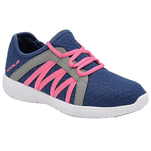 Pink Sneaker Gola Grau Damen Fit Marineblau G p445XHnB