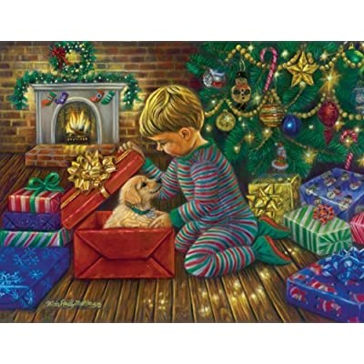 Sunsout A Golden Christmas Jigsaw Puzzle 1000 Piece By Sunsout