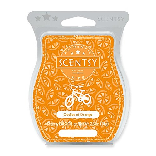SCENTSY OODLES OF ORANGE WAX TART FOR SCENTSY WARMER ()