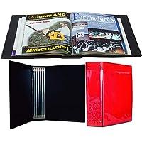 Archivador de revistas Sistema de encuadernación de varillas muy sencillo, permite sacar la revista en cualquier momento…
