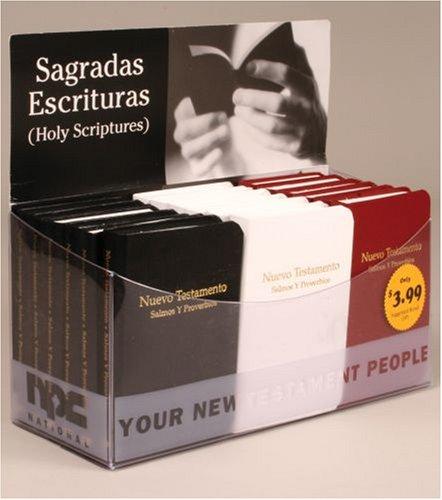 Spanish Vest-Pocket NT Ps/Pr RVR imitation leather: Point of Purchase Display Reina Valera Revisada 1960