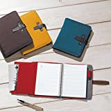Lihit Lab, Inc. diary & notebook cover smart fit A5 Brown N1718-9
