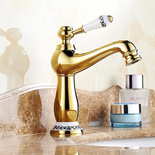 51 LHbox Basin Mixer Tap Bathroom Sink Faucet The golden basin Faucet 67