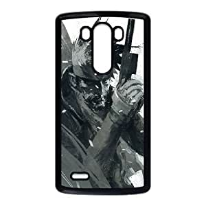 Unique Design Cases LG G3 Cell Phone Case Black ashley wood metal gear solid game Iqjci Printed Cover Protector
