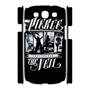 Samsung Galaxy S3 I9300 3D Customized Phone Back Case with Pierce the veil Image