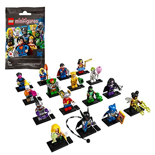 LEGO DC Super Heroes Complete Set of 16 Minifigures 71026