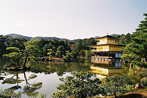 Home Comforts LAMINATED POSTER Kinkakuji Temple Japan Kyoto Tourist Destination Poster 24x16 Adhesive Decal