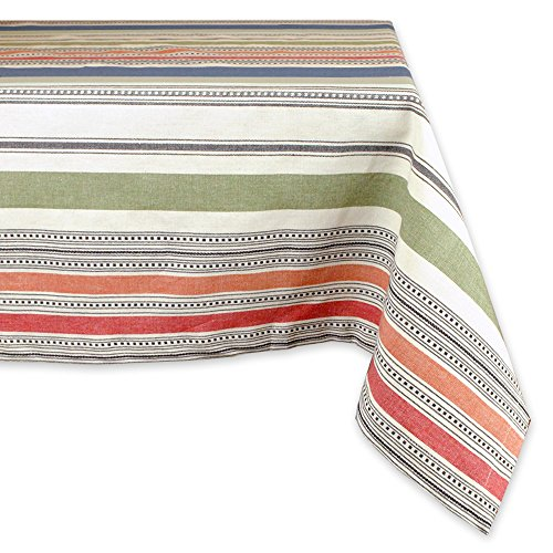 hine Washable, Dinner, Summer & Picnic Tablecloth, 60 x 104