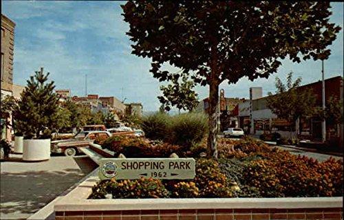 Shopping Park 1962 Grand Junction, Colorado Original Vintage - Junction Shopping Grand