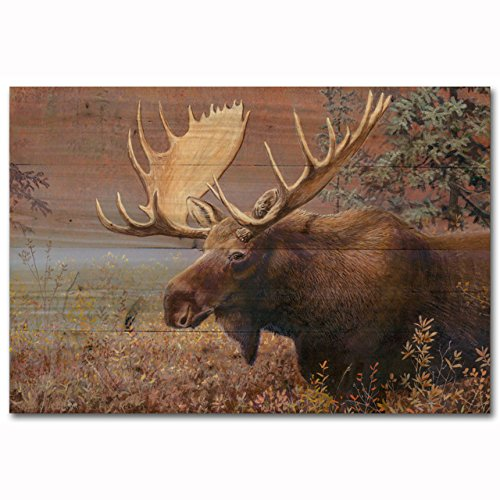 WGI-GALLERY WA-CM-2416 Chocolate Moose Wall Art