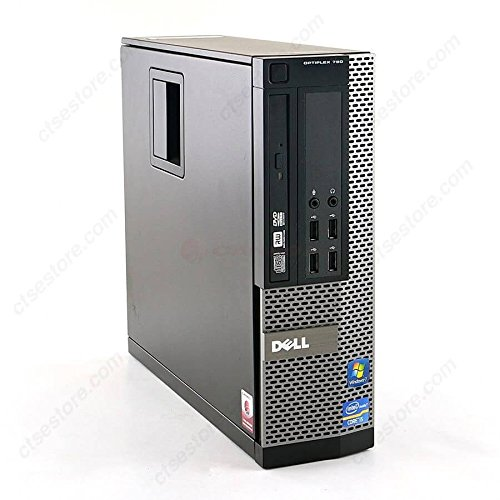 Dell Optiplex High Performance 790 Desktop Computer PC, Intel Quad Core i5-2400 3.1GHz Processor, 8GB DDR3, 1TB SATA, DVD, Windows 10 Professional (Certified Refurbished)