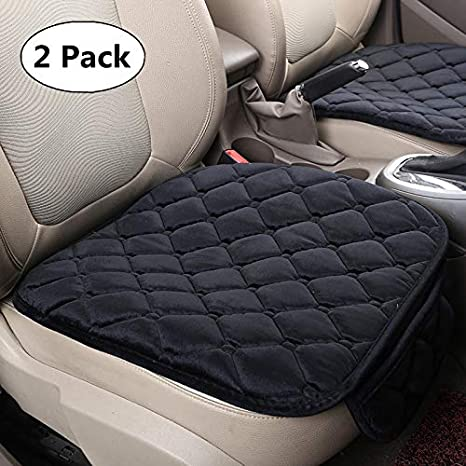 HONCENMAX Soft Car seat Cover Cushion Pad Mat Protector for Auto Supplies for Sedan Hatchback SUV 2+1 Front Seat Covers /& Rear Seat Covers