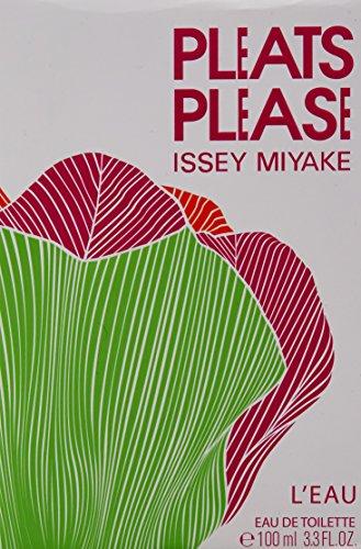 Issey Miyake Pleats Please L Eau Women s 3.3-ounce Eau de Toilette Spray