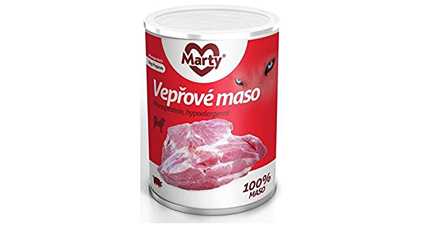 Unbekannt Marty monopro calcárea 100% Carne húmedo Forro para ...