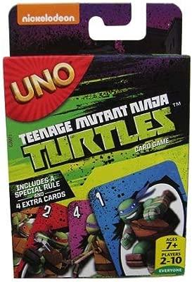 Teenage Mutant Ninja Turtles UNO juego de cartas: Amazon.es ...