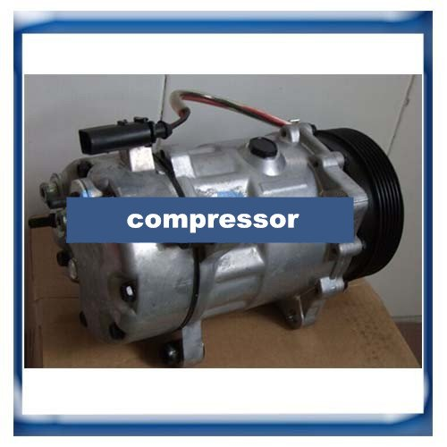 GOWE Compressor for SANDEN 7V16 SD7V16 VW Golf Bora New Beetle Polo Sharan Compressor TSP0155453 1111419 7H0820803B - - Amazon.com