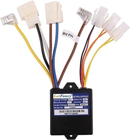 Amazon.com: LotFancy - Controlador de 12 V con 7 conectores ...