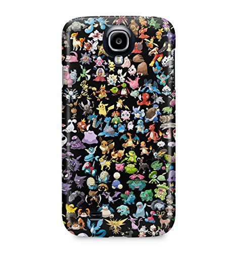 All Pokemons Collage Kanto Pokemon Hard Plastic Snap-On Case Cover For Samsung Galaxy S4 Photo - Pokemon Gaming