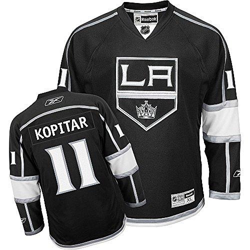 Reebok Los Angeles Kings Anze Kopitar Premier Home Jersey Xx Large