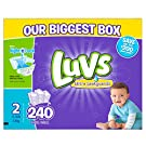 Luvs Ultra Leakguards Diapers, One Month Supply, Size 2, 240 Count