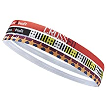 Reebok Women's CrossFit Thin Headband (Pack of 3)