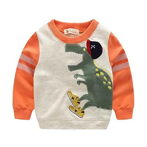 BoysDinosaur Sleeve T shirt Cartoon Sweatshirt product image