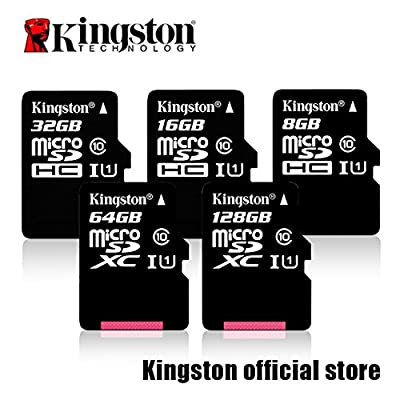 Professional Kingston Acer Predator 8 MicroSDHC MicroSDXC Cards with custom formatting and Standard SD Adapter! (Class 10, UHS-I)