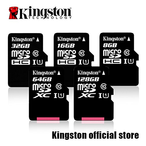 Professional Kingston Samsung Galaxy S8 edge MicroSDHC MicroSDXC Cards with custom formatting and Standard SD Adapter! (Class 10, UHS-I)