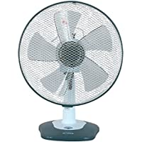 Optimus - 12 Oscillating Table Fan With Soft Touch Switch - Optimus - 12 Oscillating Table Fan With Soft Touch Switch 12 Soft Touch Switch & Led 3-Speed, Energy-Saving/Whisper-Quiet Operation Moto