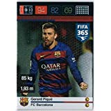 Panini Adrenalyn XL FIFA 365 Gerard Pique Defensive Rock Trading Card