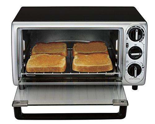 proctor silex 31122 modern toaster oven black buy. Black Bedroom Furniture Sets. Home Design Ideas