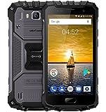 Ulefone Armor 2 - 5.0 pollici FHD IP68 impermeabile 4G Android 7.0 smartphone, Helio P25 Octa Core 2.6GHz 6GB RAM 64GB ROM, 13MP + 16MP fotocamera NFC GPS 4700mAh carica veloce - Nero