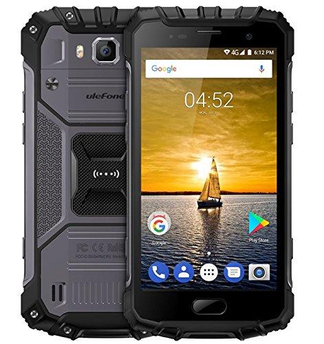 Ulefone Armor 2 5.0 Inch IP68 6GB RAM 64GB ROM Helio P25 Octa-Core 2.6GHz 4G Smartphone Silver