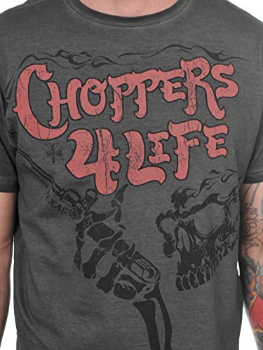 West Coast Choppers T-Shirt Choppers For Life Schwarz
