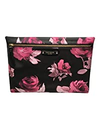 Kate Spade Large Drewe Wilson Road Rose Symphony Pouch / Clutch