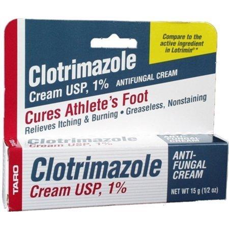 Clotrimazole Anti Fungal Cream USP 1 Percent by Generic Lotrimin - 0.5 Oz by Generic Lotrimin