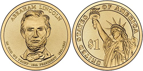 2010 P&D Abraham Lincoln Presidential Dollar Set