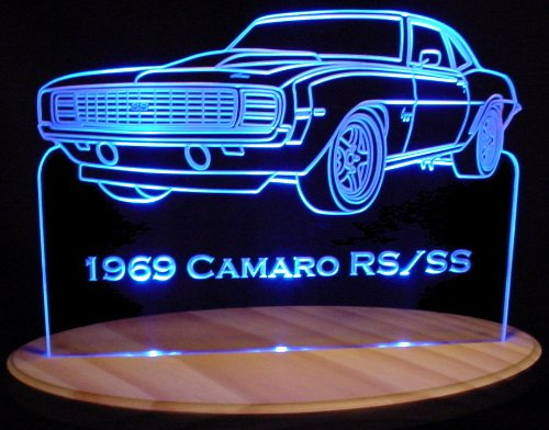 Antique Led Sign - 1969 Camaro RS / SS 13